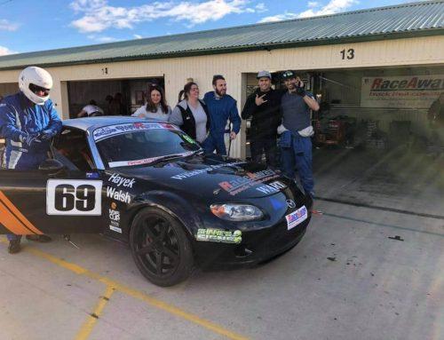 RaceAway Returns to Wakefield 300 Podium