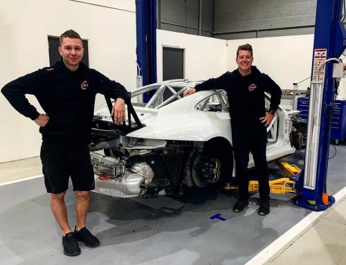 Crick Returns in Re-Shelled Porsche