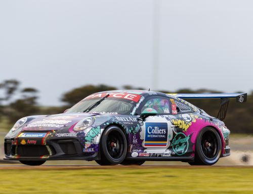 CHE Racing Juniors Score Porsche Test