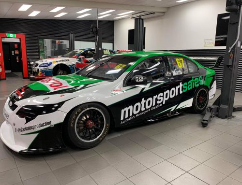 Motorsportsales.com.au Backs Morris' Supercar Debut