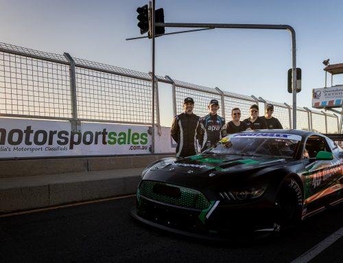 Slade, Johnson and Morris Sample Begg Motorsport Cars