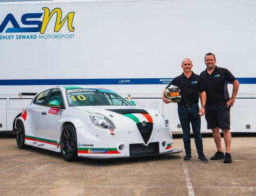 ASM Confirms Holdsworth and Hanson for TCR