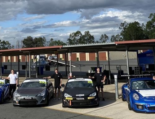 Tekworkx Tuned Up After Queensland Raceway Test Day