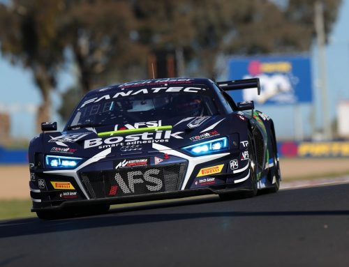 Bates and Mostert Recover for Podium After Pit Penalty