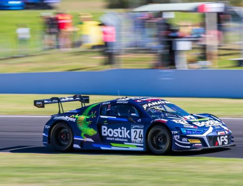 Bates Enjoying Bathurst Return