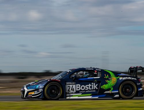Bostik Racing Secures Another Front-Row Start